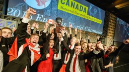 Canada Places Second at Enactus World Cup 2017 in London