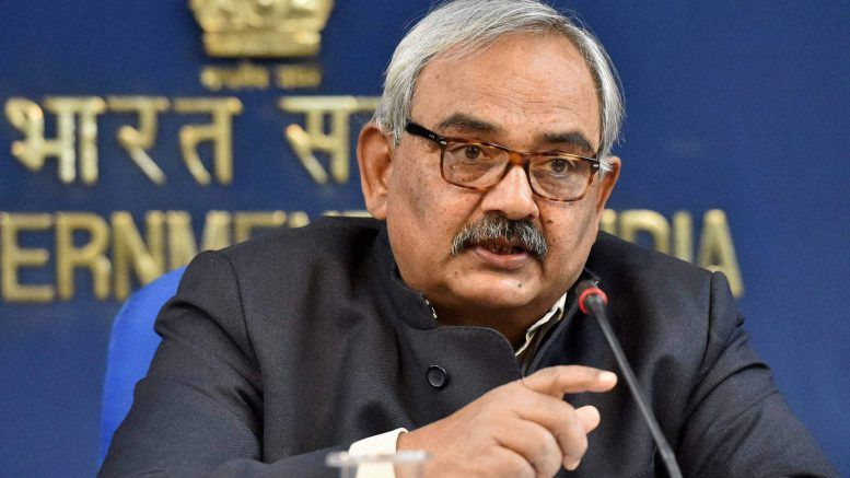 Former home secretary Rajiv Mehrishi takes over as CAG