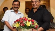 Arvind Kejriwal says Kamal Haasan should join politics; fighting corruption
