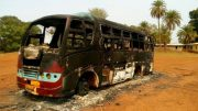 Chhattisgarh: Naxals torch a passenger bus, no casualties