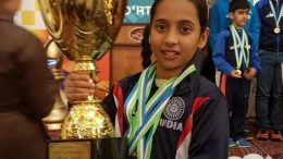 Indian 11-year-old girl wins gold medal in U12 World Cadet Chess championship