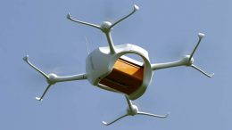 self-flying drone to quickly deliver food, medicine