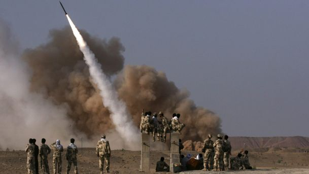 Iran test-fires new ballistic missile