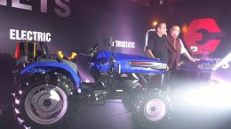 Escorts unveils India's first electric tractor concept