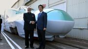 Modi mocks Bullet train critics in style