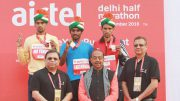 Airtel Delhi Half Marathon: 10th edition,over 34,000 participants