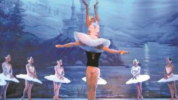 A drizzle outside and ballet inside, Swan Lake brings capital to its toes