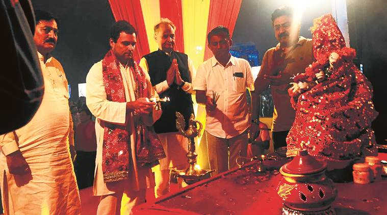 Congress vice-president Rahul Gandhi picks temple visits carefully