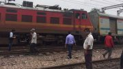 Jammu Rajdhani Express derails at New Delhi Railway station