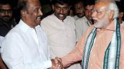Rajinikanth extends support for PM Modi's 'Swachhata Hi Seva' mission