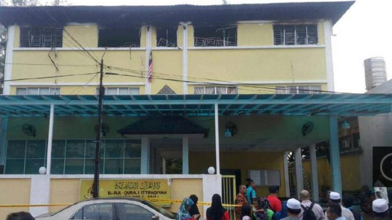 Fire kills at least 25 at religious school in Malaysian capital