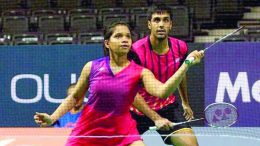 Japan Open: Pranaav Jerry Chopra-N Sikki Reddy lose in mixed doubles semi-final