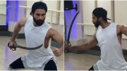 Photos: Padmavati actor Shahid Kapoor is training like a fearless knight