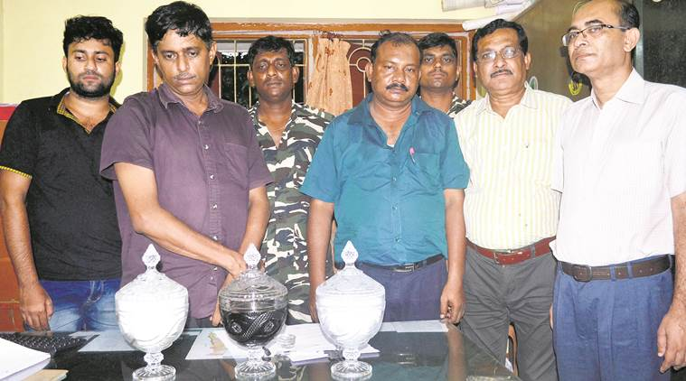 Snake venom worth Rs 100 crore seized in Barasat, three arrested