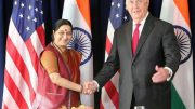 Sushma raises H-1B issue in U.S.