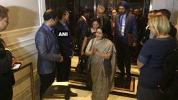 UN General Assembly meet New York: Sushma Swaraj arrives to attend session