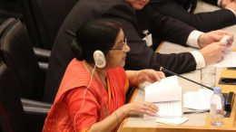 Sushma Swaraj : India ready to work above and beyond Paris climate deal