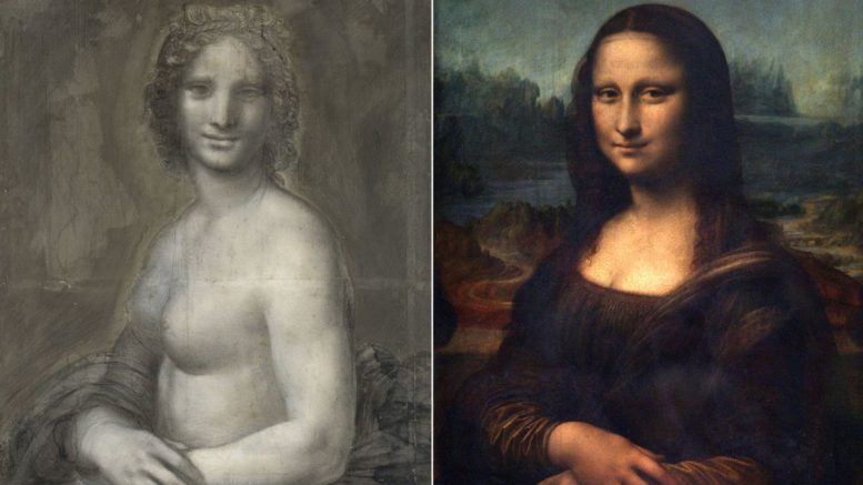 Mona Lisa unveiled? Nude sketch may have link to masterpiece