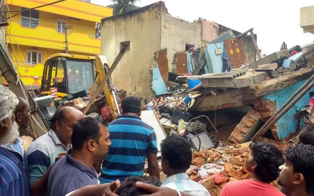 6 killed in Bengaluru house collapse due to suspected cylinder blast
