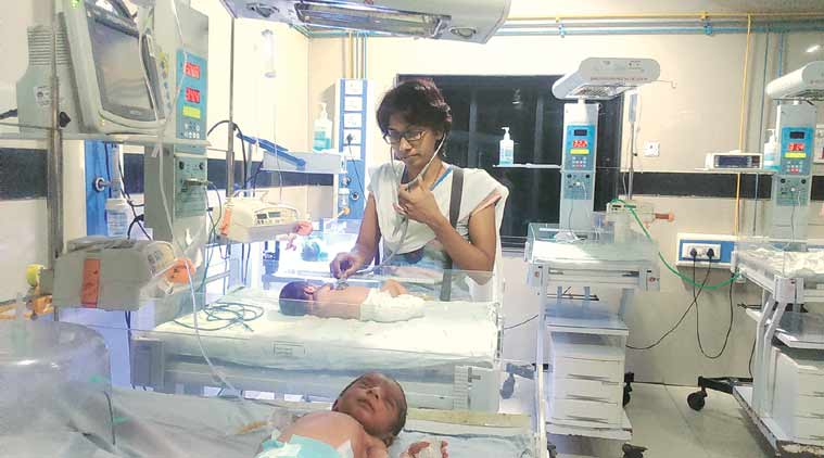 Don't stop breathing:After husband's death, paediatrician dedicates life to saving infants