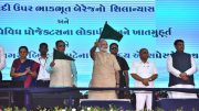 PM Modi reaches out to farmers, migrants in Gujarat