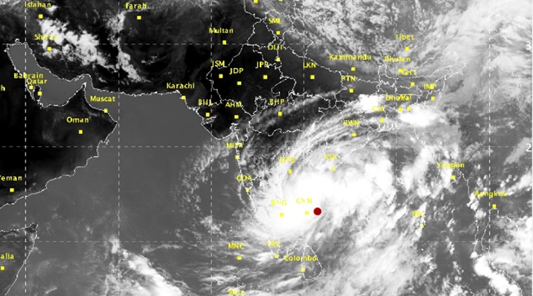 Chennai Weather, 8 Dead In Tamil Nadu, Kerala As Cyclone Ockhi Heads For Lakshadweep