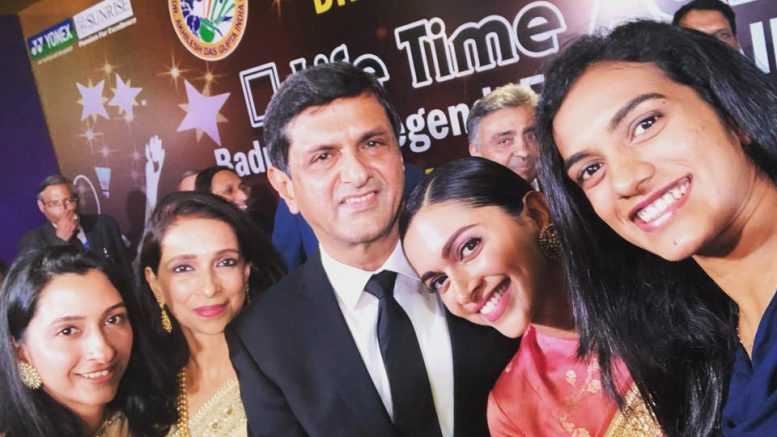 Deepika Padukone, Mom And Sister Attend Prakash Padukone's Award Ceremony In Delhi