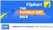 Flipkart Republic Day Sale 2018 Offers on Mobile Phones, TVs, Laptops, and More