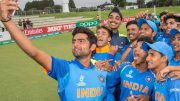ICC Under-19 World Cup: Gill, Ishan fashion 203-run rout of Pakistan to book India place in final