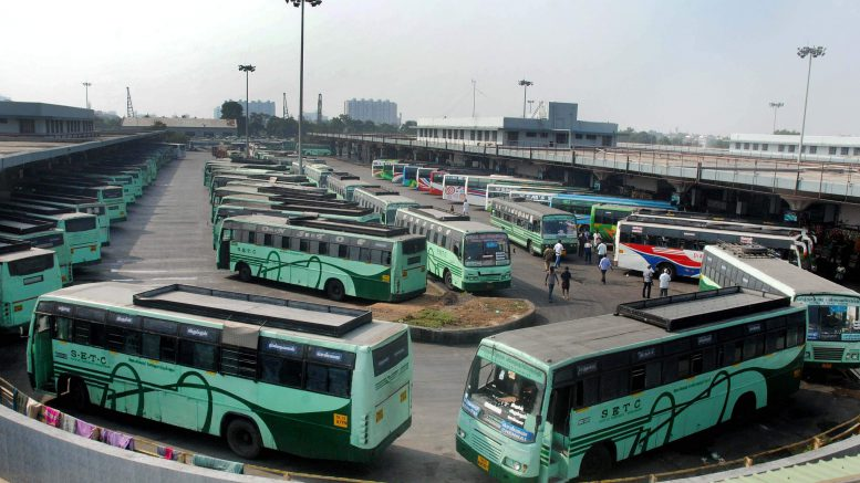 Protests continue against bus fare hike in Tamil Nadu