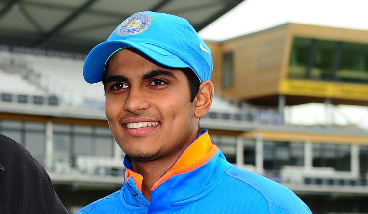 Rising star Shubman Gill, who scored magnificent hundred against Pakistan in semi finals