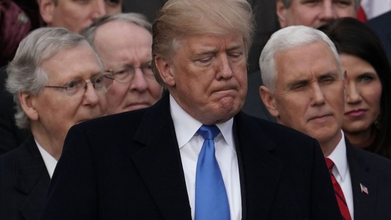 US government shuts down as Democrats and Republicans fail to agree on bill for federal funding