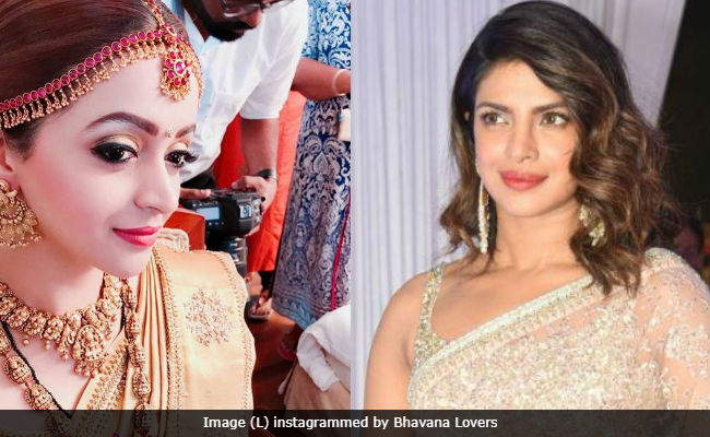 Priyanka Chopra Sends Wedding Wishes To South Actress Bhavana