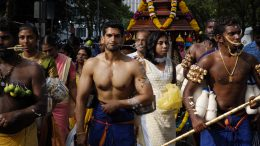 thaipusam 2018, a festival celebrated by the Tamil
