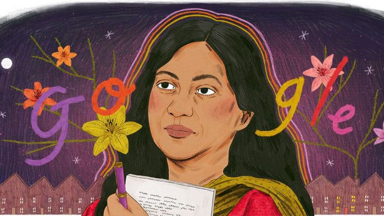 Google Doodle celebrates work and life of Kamala Das
