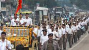 RSS 'show of strength' rallies in Uttar Pradesh will add fuel to Kasganj fire