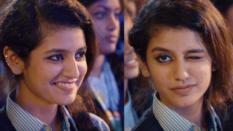 Priya Prakash Varrier, the eighteen-year-old girl from Thrisshur in Kerala, made India her fan with her wink in the short clip.