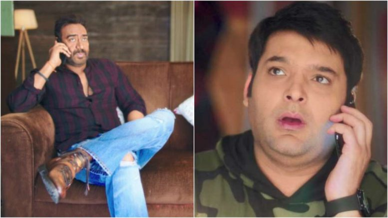 Family Time With Kapil Sharma trailer Ajay Devgn mocks Kapil Sharma for making people wait on set