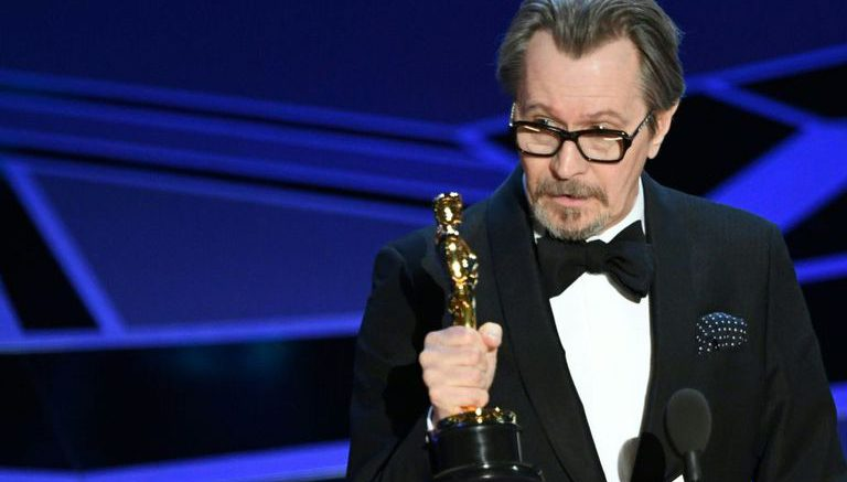 Gary Oldman wins best actor Oscar for Darkest Hour